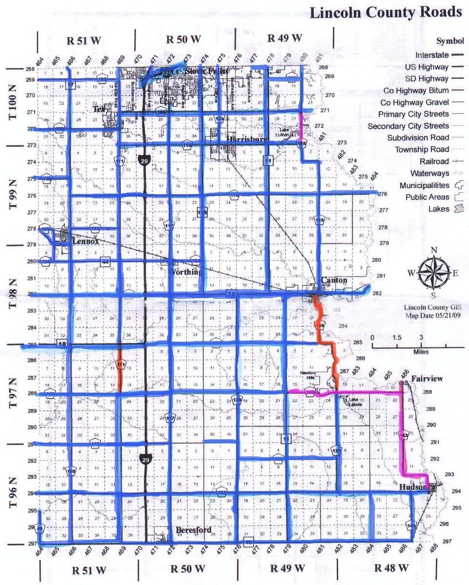picture regarding South Dakota County Map Printable identify Printable Bike Maps South Dakota Rides